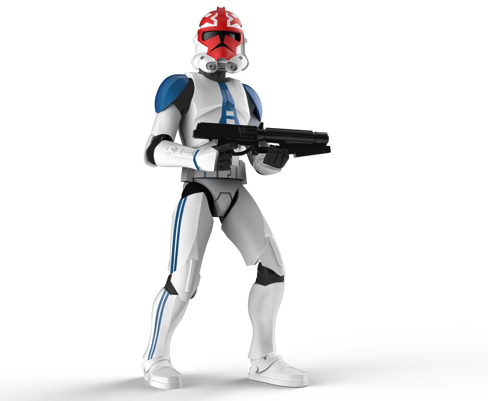 Ahsoka's Clone Trooper