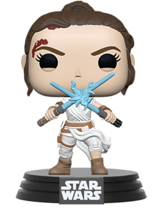 Rey (Two Lightsabers)