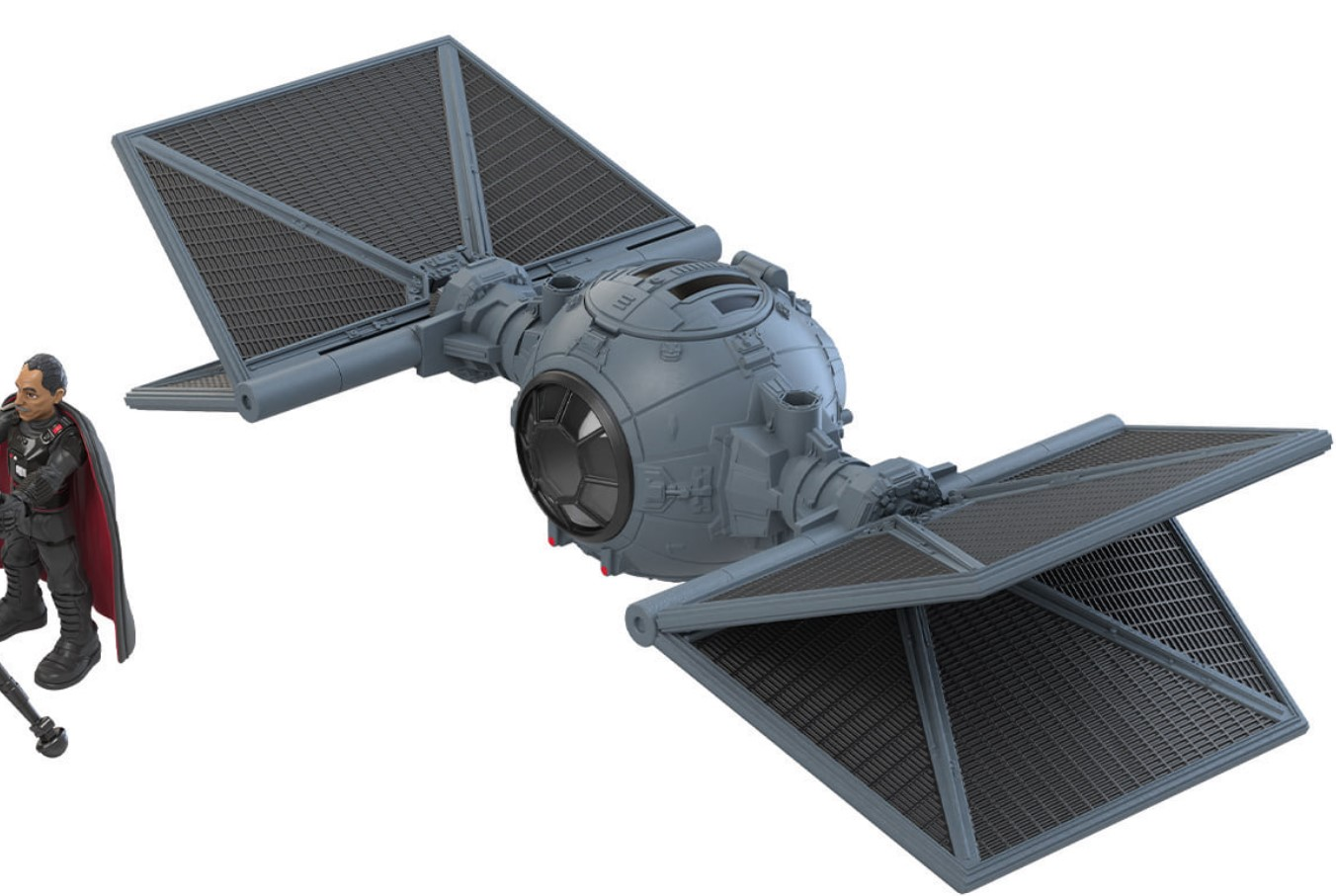 Outland TIE Fighter | Moff Gideon with Outland TIE Fighter