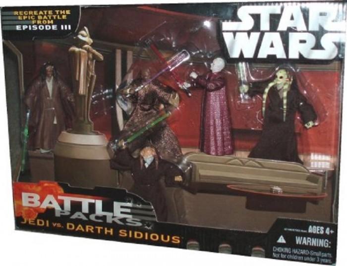 Jedi vs. Darth Sidious -