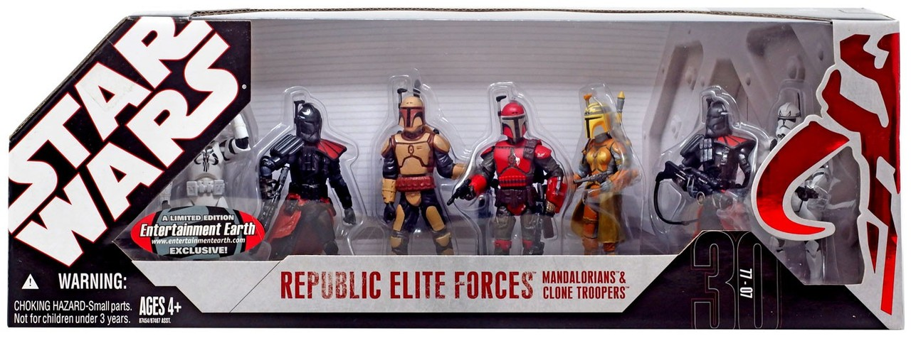 Republic Elite Forces: Mandalorians and Clone Troopers -