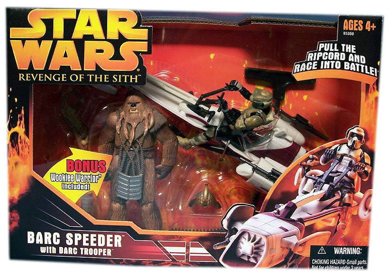 BARC Speeder (with BARC Trooper and Bonus Wookiee Warrior) -