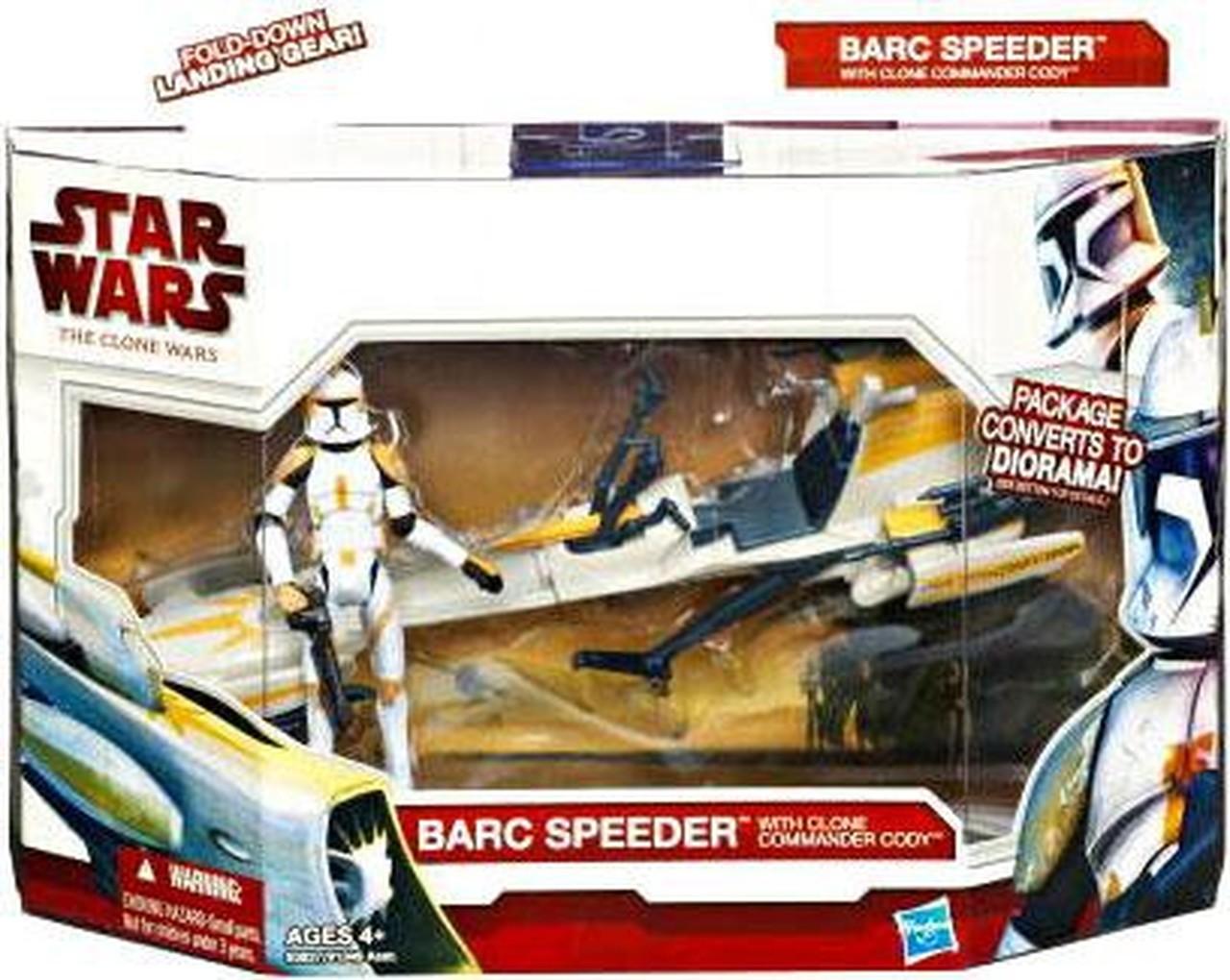 BARC Speeder with Clone Commander Cody