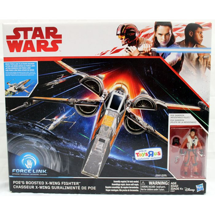 Poe's Boosted X-Wing Fighter -