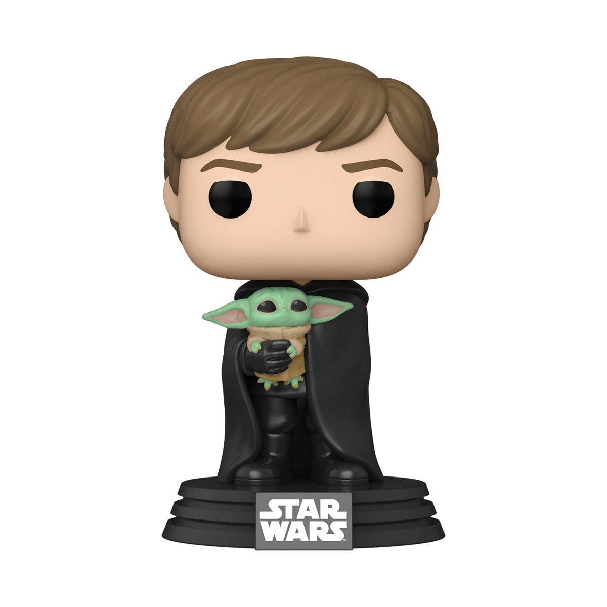 Luke Skywalker with Grogu