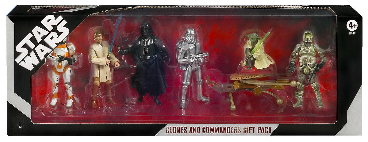 Clones and Commanders Gift Pack