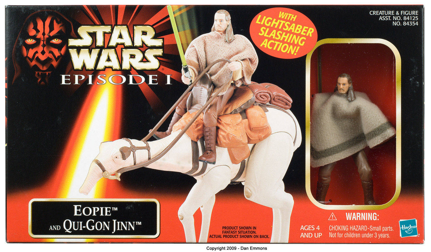 Eopie with Qui-Gon Jinn -