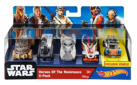 Star Wars Heroes of the Resistance 5-Pack -