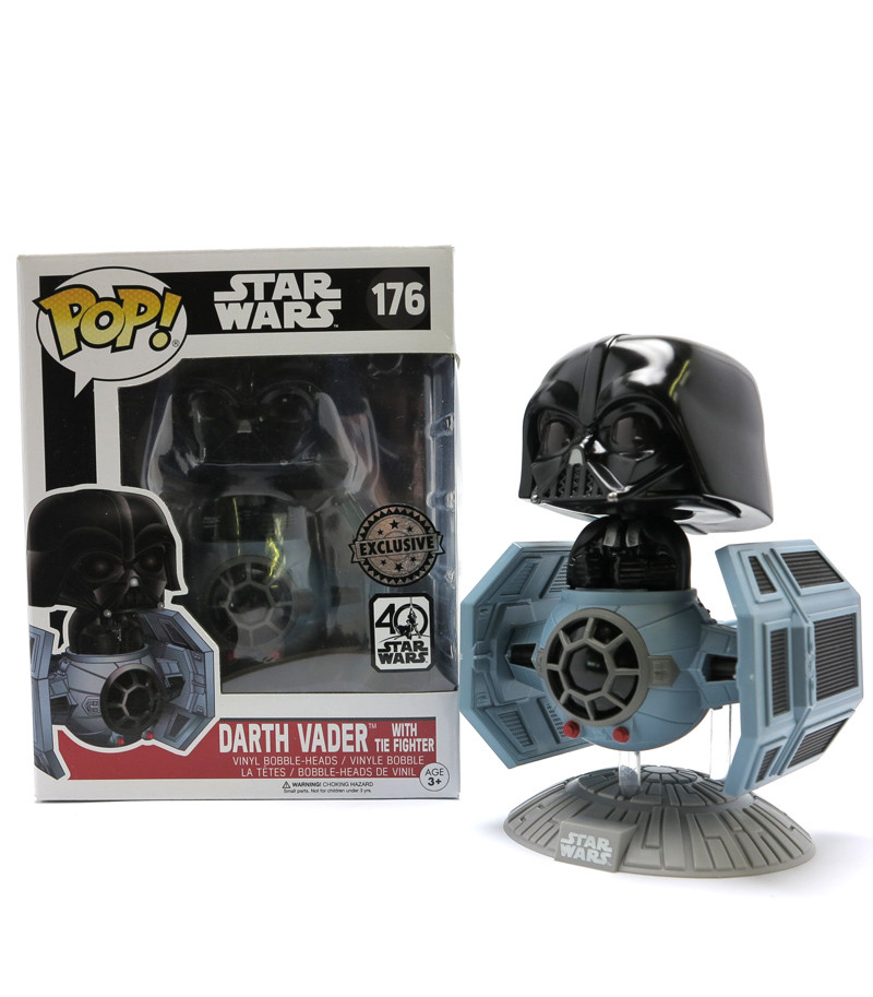 Darth Vader with TIE Fighter -