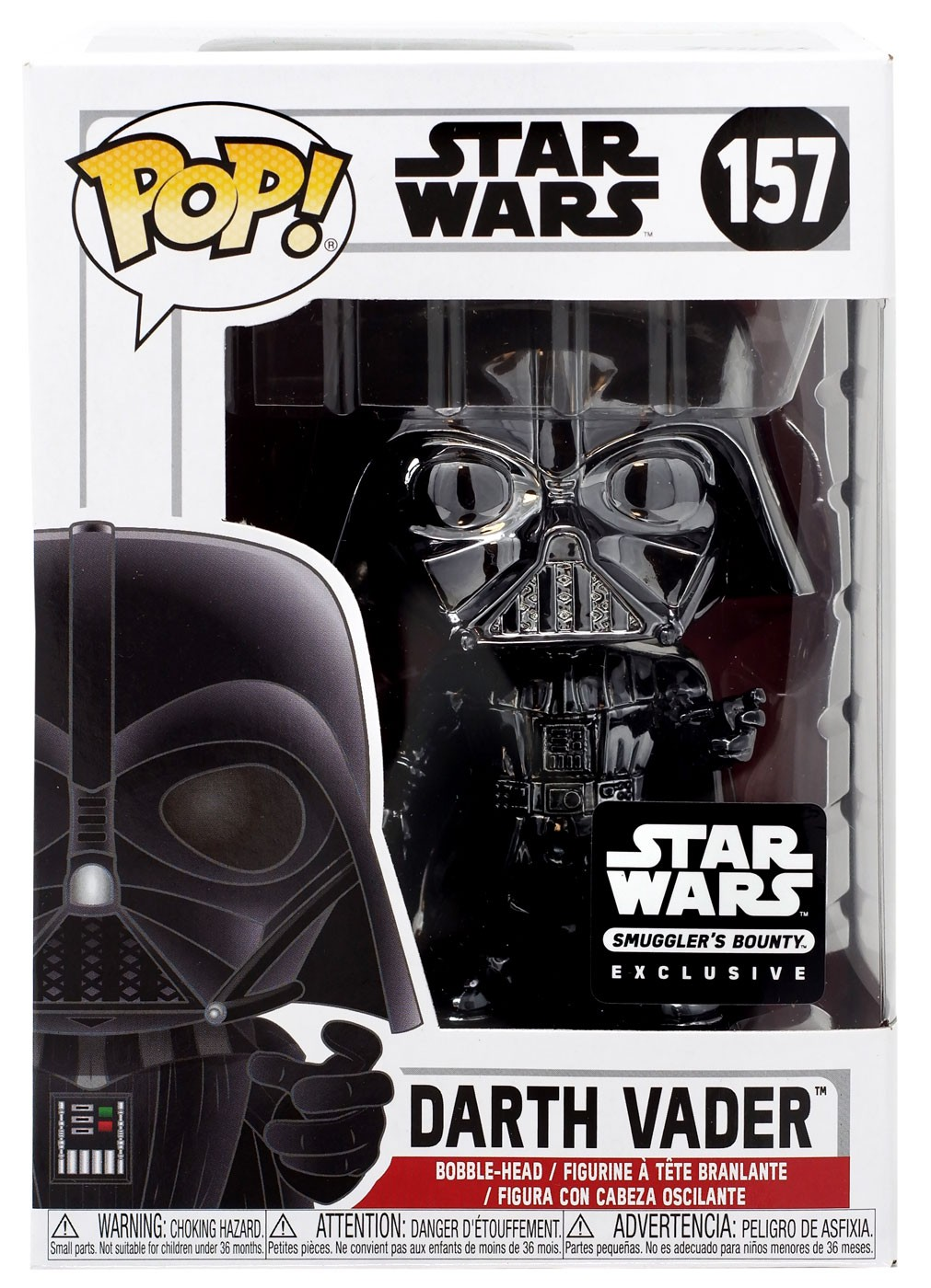 Darth Vader Black Chrome -