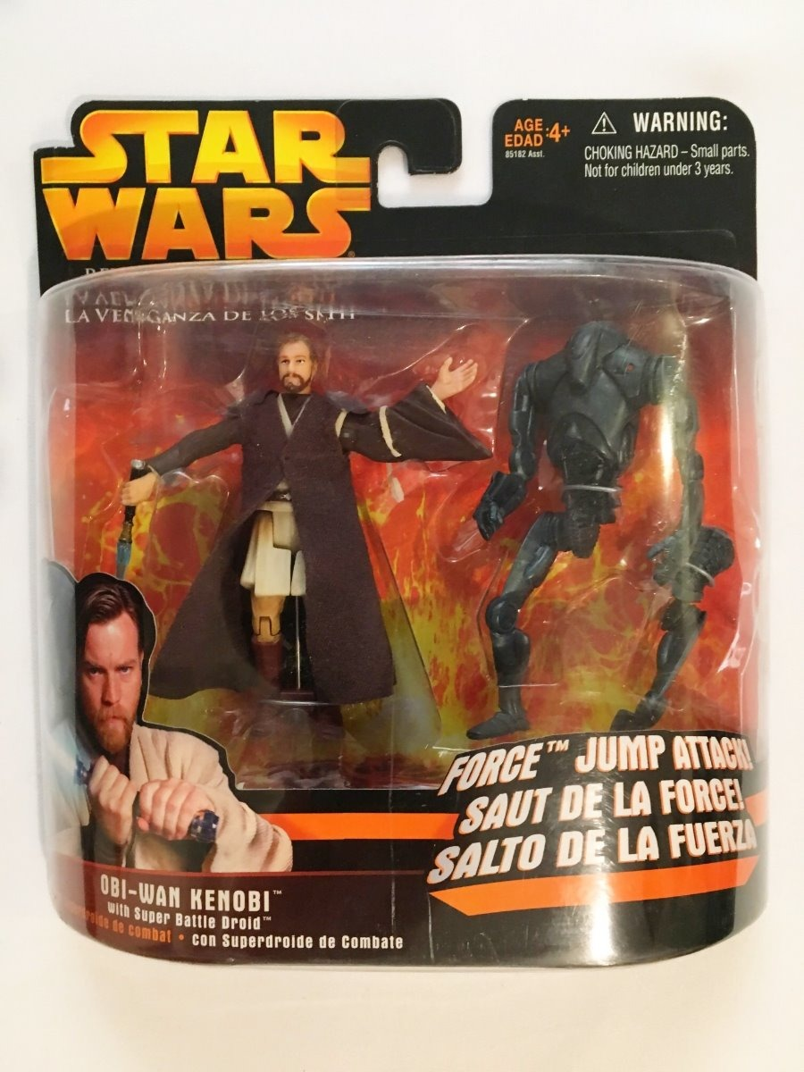Obi-Wan Kenobi (Force Jump Attack) -