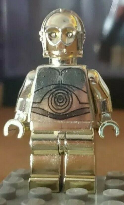 Gold Chrome Plated C-3PO -