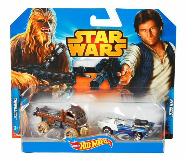 Chewbacca & Han Solo -