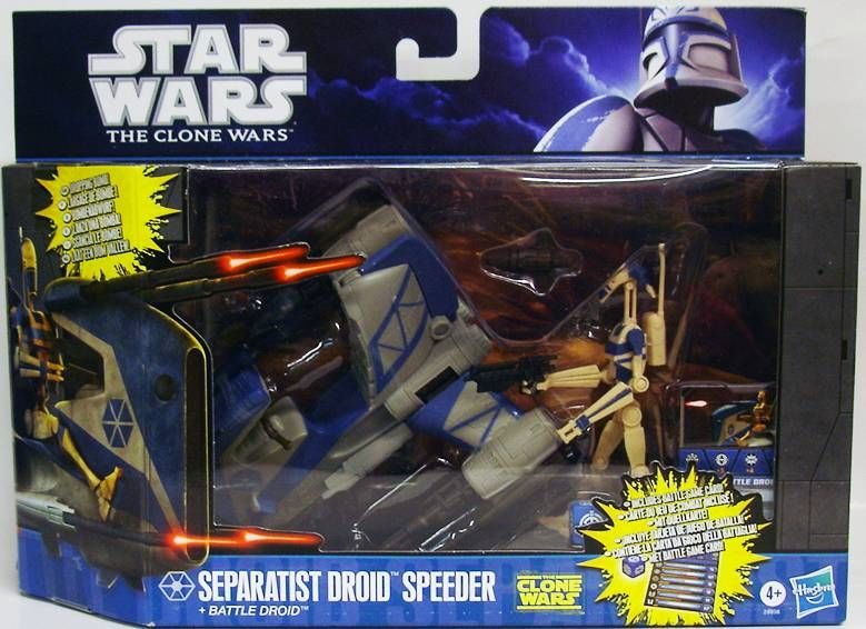 Separatist Droid Speeder with Battle Droid