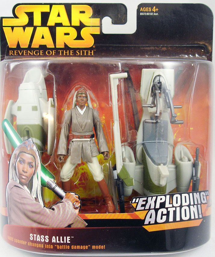 Stass Alliee with BARC Speeder (Exploding Action) -