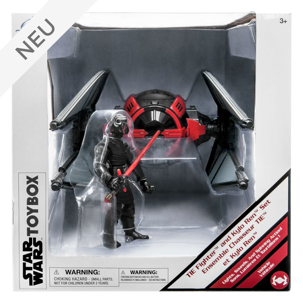 Tie Fighter and Kylo Ren