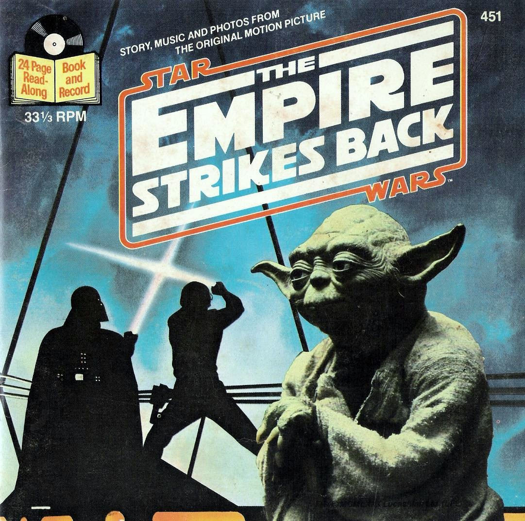 Star Wars: The Empire Strikes Back (Book and Record)