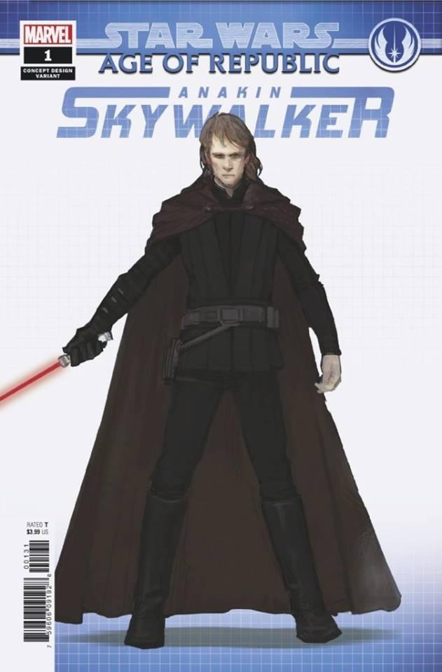 Star Wars Age of Republic: Anakin Skywalker - Concept Variant (Sang Jun Lee)