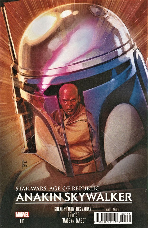 Star Wars Age of Republic: Anakin Skywalker - Greatest Moments Variant (Rod Reis)