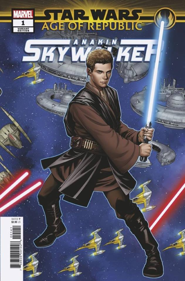Star Wars Age of Republic: Anakin Skywalker - Puzzle Piece Variant (Mike McKone)