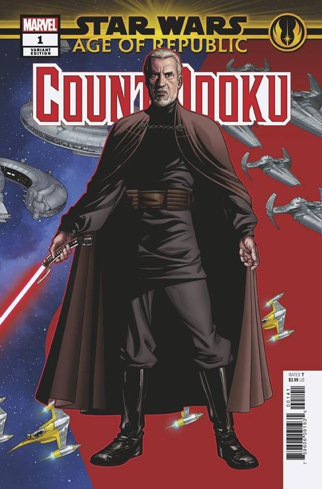 Star Wars Age of Republic: Count Dooku - Puzzle Piece Variant (Mike McKone)