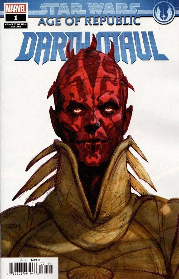 Star Wars Age of Republic: Darth Maul - Concept Variant (Iain McCaig)