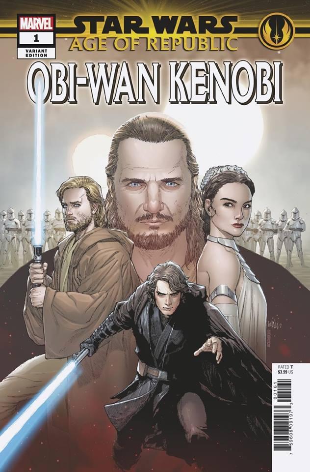 Star Wars Age of Republic: Obi-Wan Kenobi - Heroes Variant (Lenil Francis Yu)