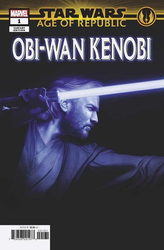 Star Wars Age of Republic: Obi-Wan Kenobi - Rahzzah Variant