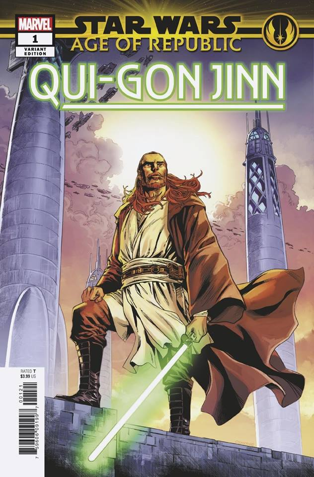 Star Wars Age of Republic: Qui-Gon Jinn - Cory Smith Variant