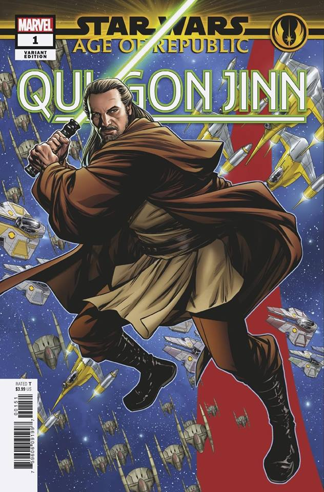 Star Wars Age of Republic: Qui-Gon Jinn - Puzzle Piece Variant
