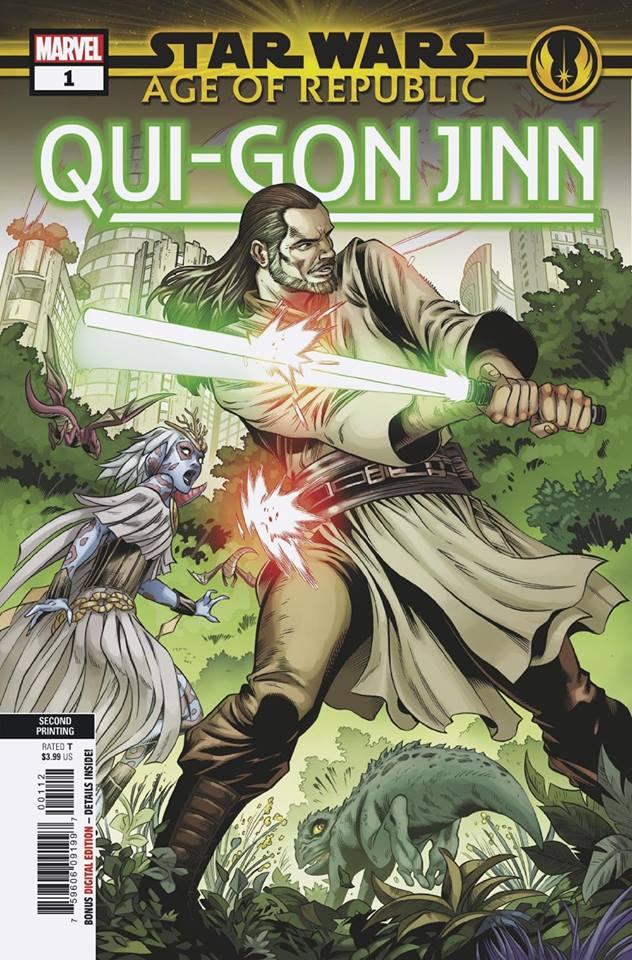 Star Wars Age of Republic: Qui-Gon Jinn - Second Printing
