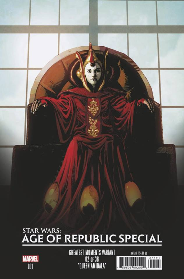 Star Wars Age of Republic Special - Greatest Moment Variant (Mike Deodato)
