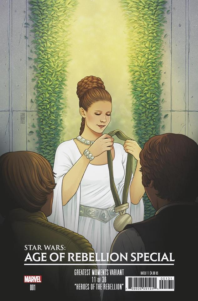 Star Wars Age of Rebellion Special - Greatest Moments Variant (Jen Bartel)