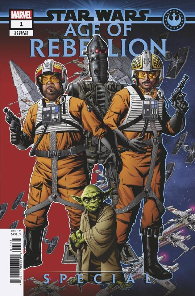 Star Wars Age of Rebellion Special - Puzzle Piece Variant