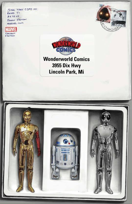 Star Wars C-3PO - Wonderworld Action Figure Variant