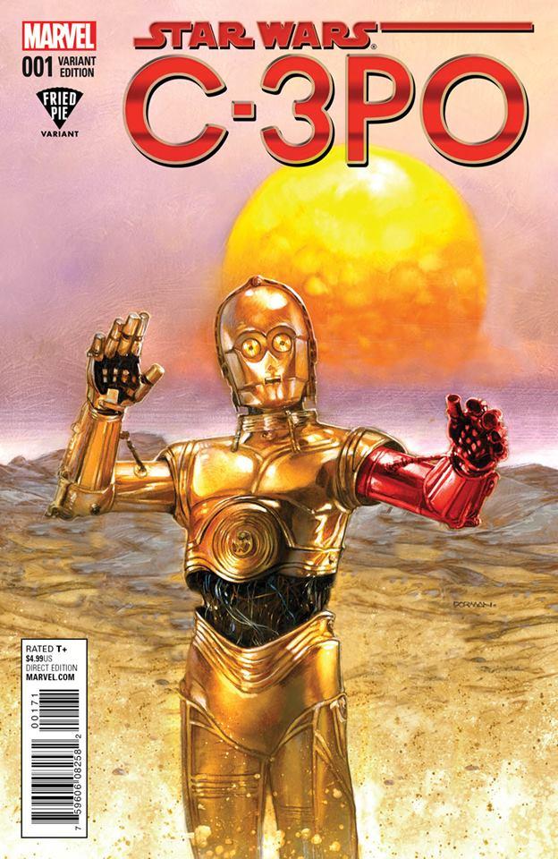 Star Wars C-3PO - Dorman Fried Pie Variant