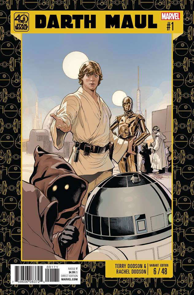 Star Wars Darth Maul 1 - 40th Anniversary Variant (Terry Dodson)