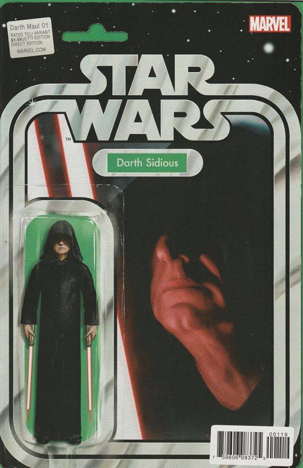 Star Wars Darth Maul 1 - Action Figure Variant - Darth Sidious