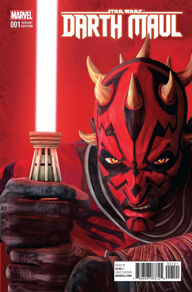 Star Wars Darth Maul 1 - Rebels Animation Variant