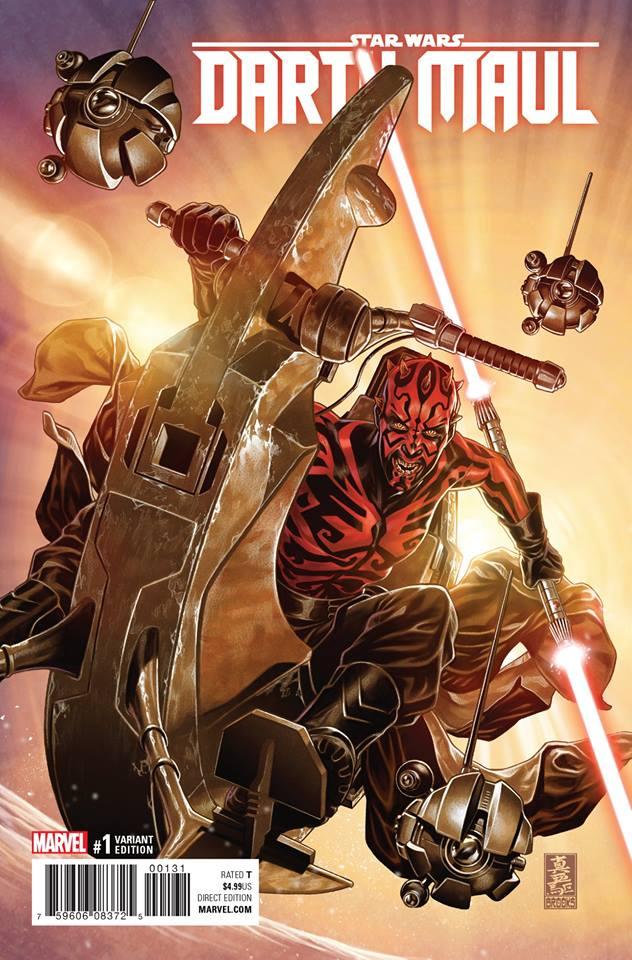 Star Wars Darth Maul 1 - Mark Brooks Variant