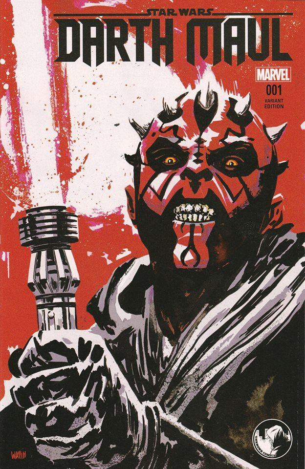 Star Wars Darth Maul 1 - Unknown Comic Books Variant (Michael Walsh)