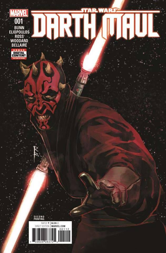 Star Wars Darth Maul 1 - Second Printing