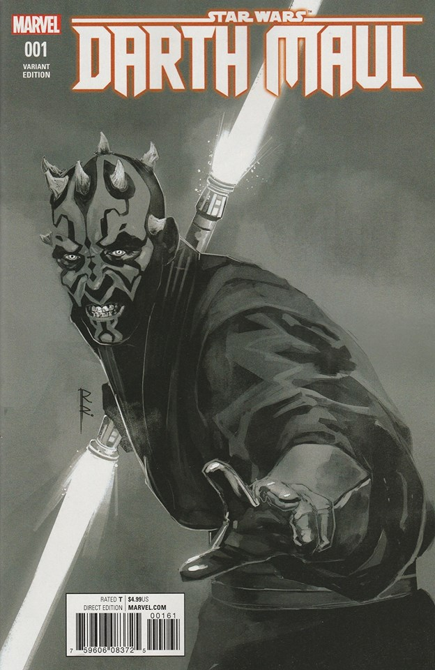 Star Wars Darth Maul 1 - Sketch Variant (Rod Reis)