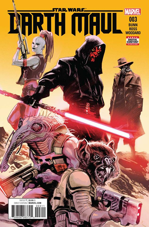 Star Wars Darth Maul 3 (Marvel) - First Printing