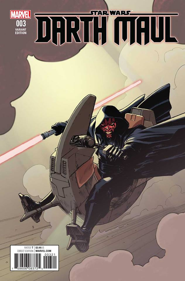 Star Wars Darth Maul 3 (Marvel) - David Lopez Variant