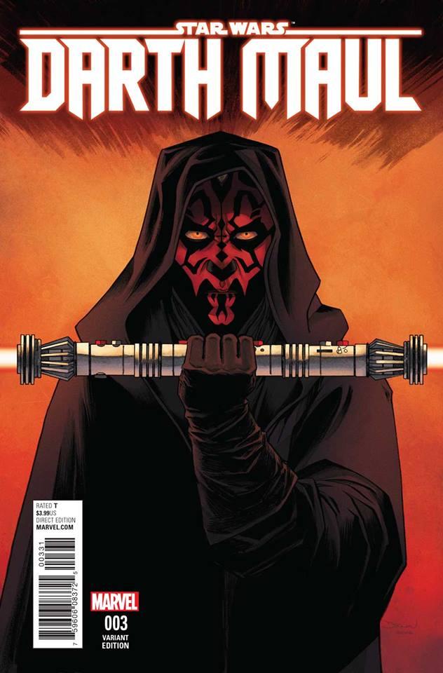 Star Wars Darth Maul 3 (Marvel) - Declan Shalvey Variant