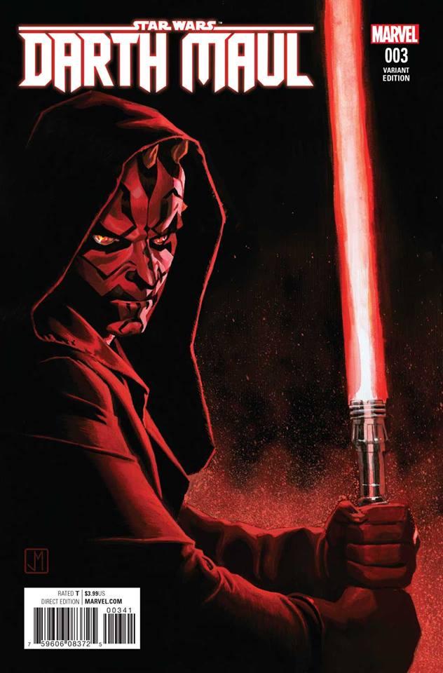 Star Wars Darth Maul 3 (Marvel) - Jorge Molina Variant