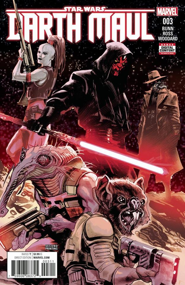 Star Wars Darth Maul 3 (Marvel) - Second Printing