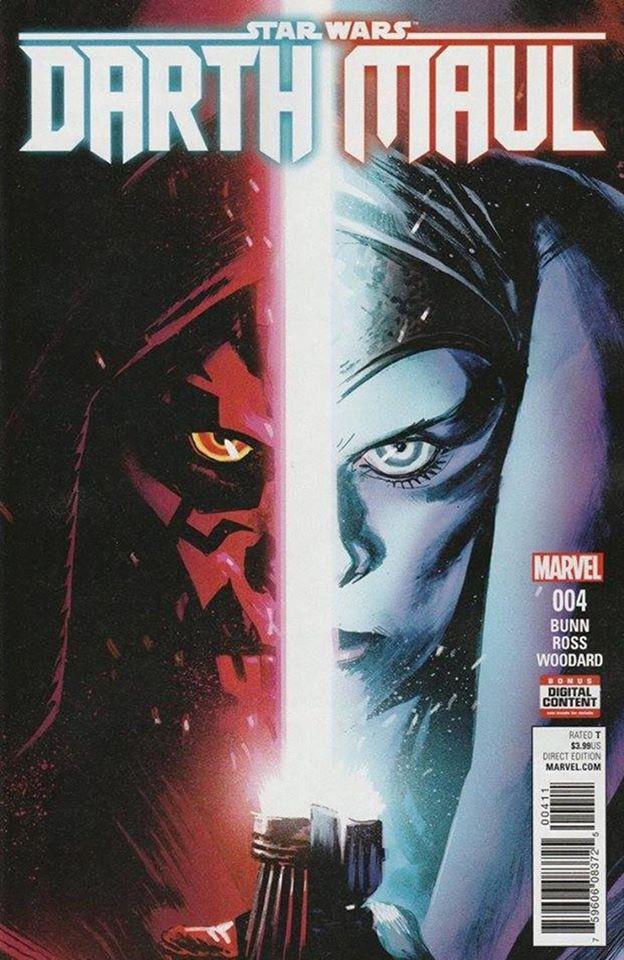 Star Wars Darth Maul 4 (Marvel) - First Printing