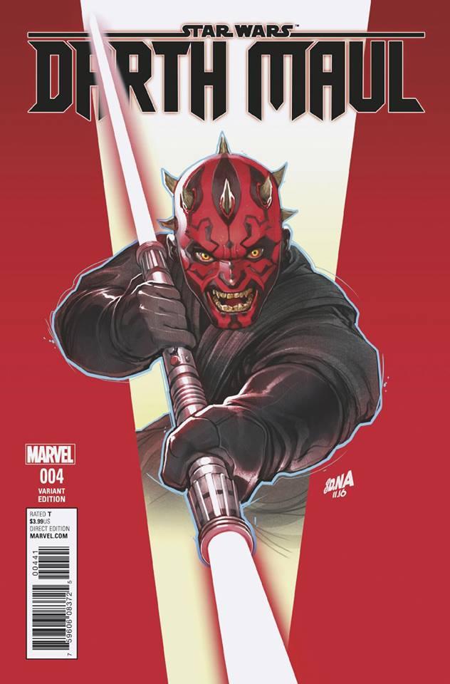 Star Wars Darth Maul 4 (Marvel) - David Nakyama Variant